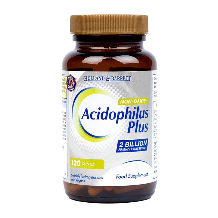 Holland & Barrett Acidophilus Plus Non Dairy 120 Capsules
