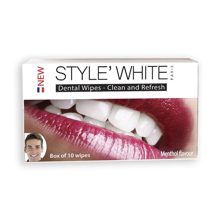 Style White Refreshing Dental Wipes