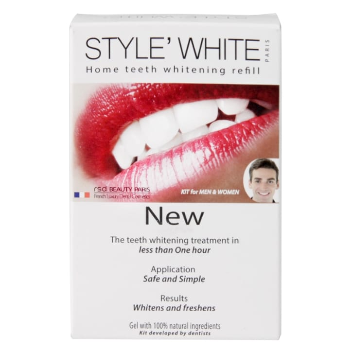 Style White Natural Home Teeth Whitening Refill