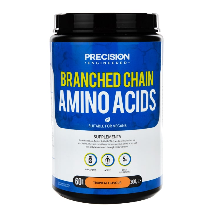 Precision Engineered Branched Chain Amino Acids Powder Tropical 300g
