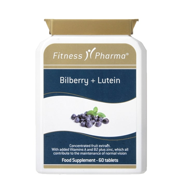 Fitness Pharma Bilberry & Lutein 60 Tablets