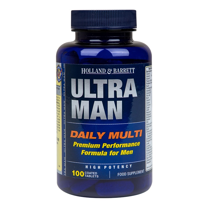 Holland & Barrett Ultra Man Multivitamin 100 Caplets