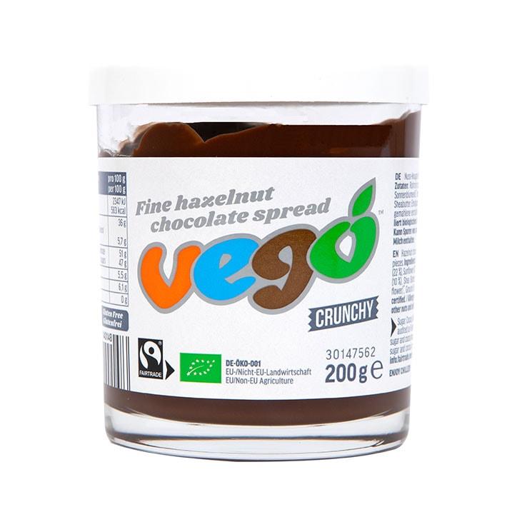 Vego Fine Hazelnut Crunchy Chocolate Spread 200g