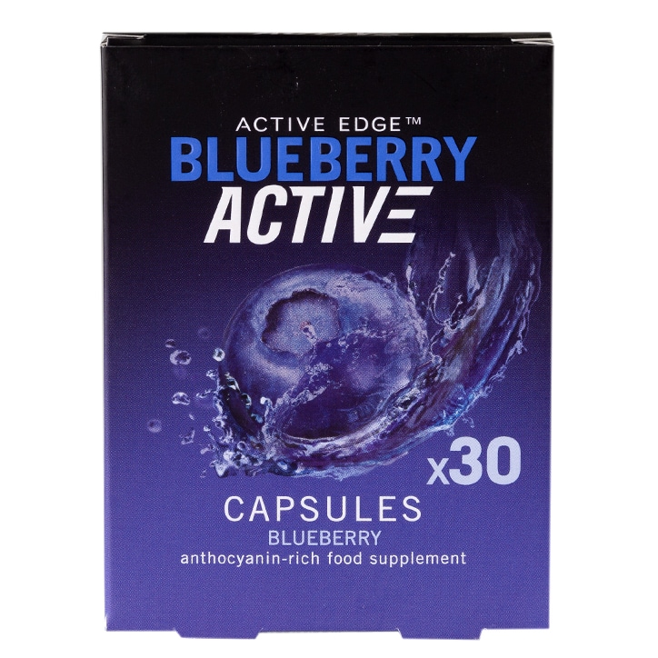 Cherry Active Ltd Blueberryactive Capsules