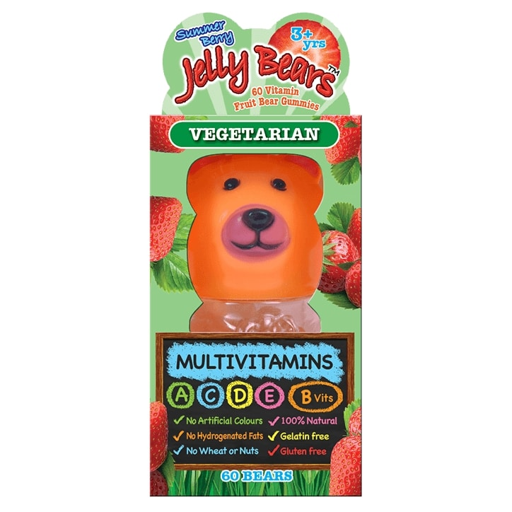 Jelly Bears Multivitamins Fruit Bear 60 Chewables