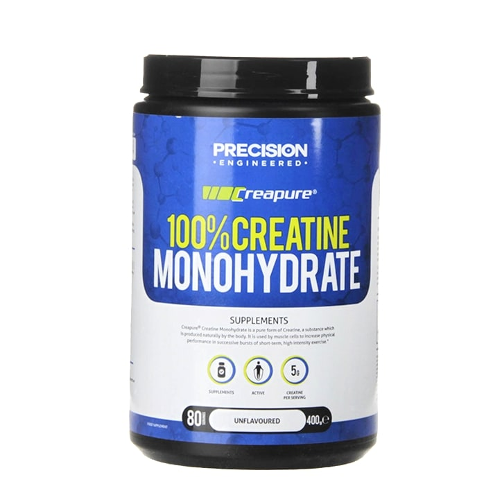 Precision Engineered Creapure 100% Creatine Monohydrate Powder 400g