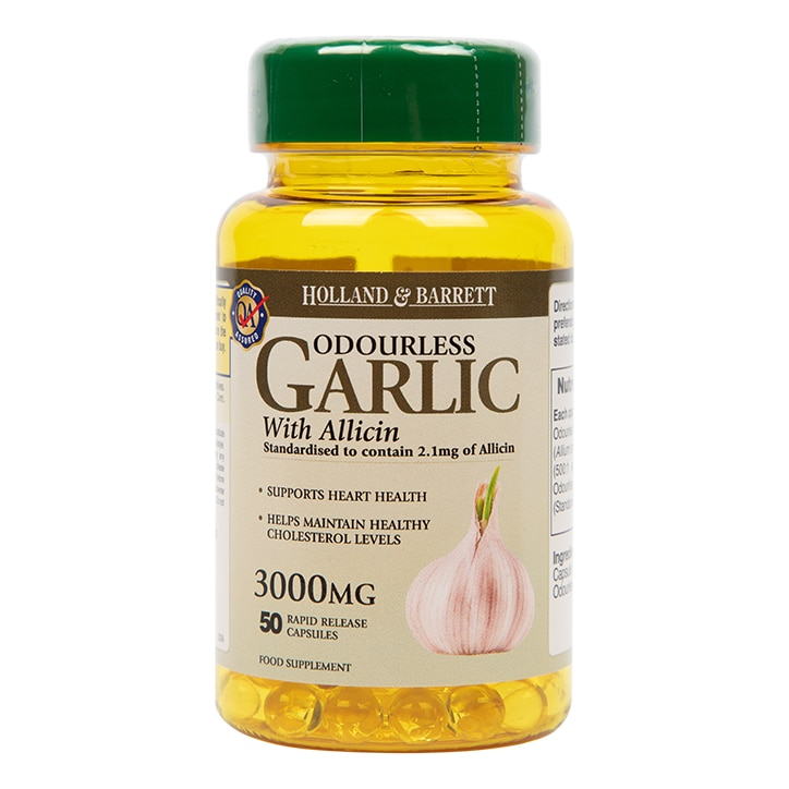 Holland & Barrett Odourless Garlic Capsules 3000mg