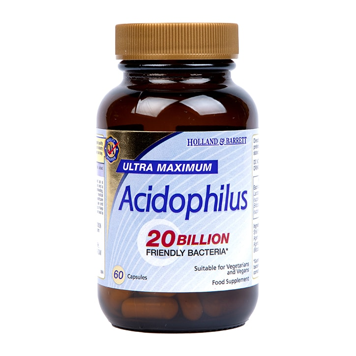Holland & Barrett Ultra Maximum Acidophilus 60 Capsules
