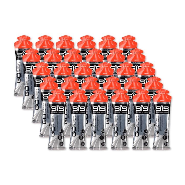 SiS GO Energy + Caffeine Gel Berry 30 x 60ml