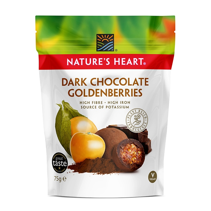Terrafertil Raw Cocoa Covered Goldenberries 75g