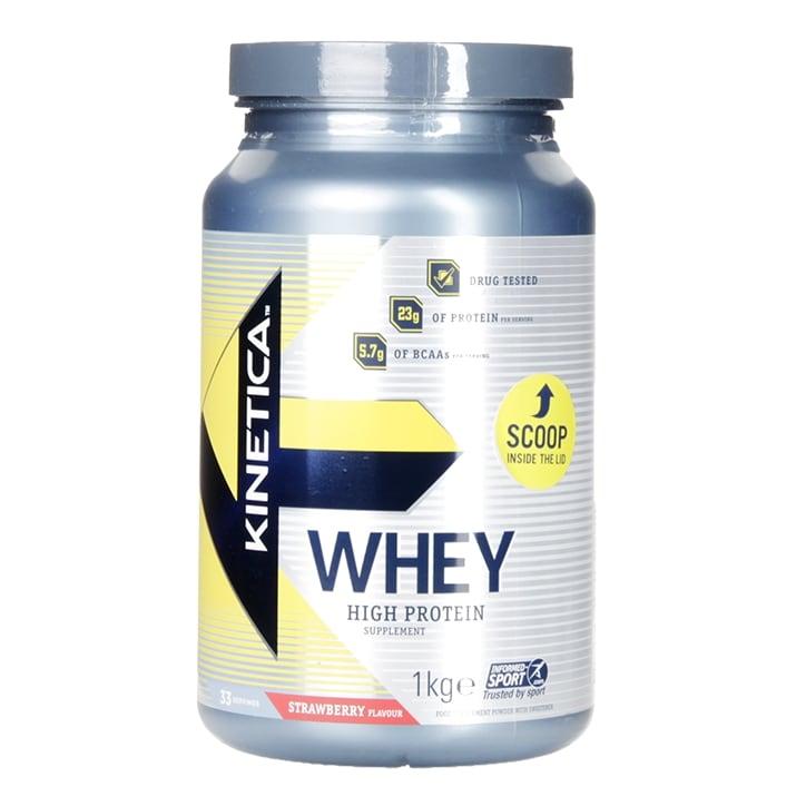 Kinetica Whey Protein Strawberry 1000g Powder
