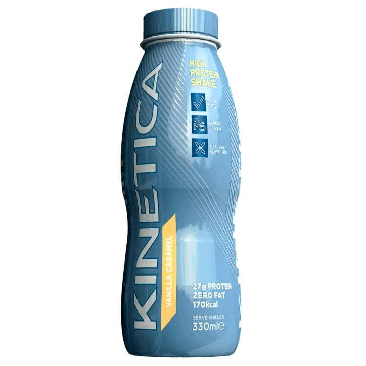 Kinetica High Protein Shake Vanilla Caramel 330ml