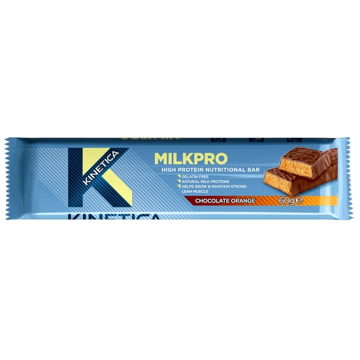 Kinetica Milkpro Protein Bar Chocolate Orange