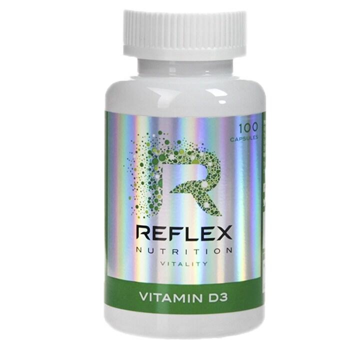 Reflex Vitamin D3 Capsules 2000iu