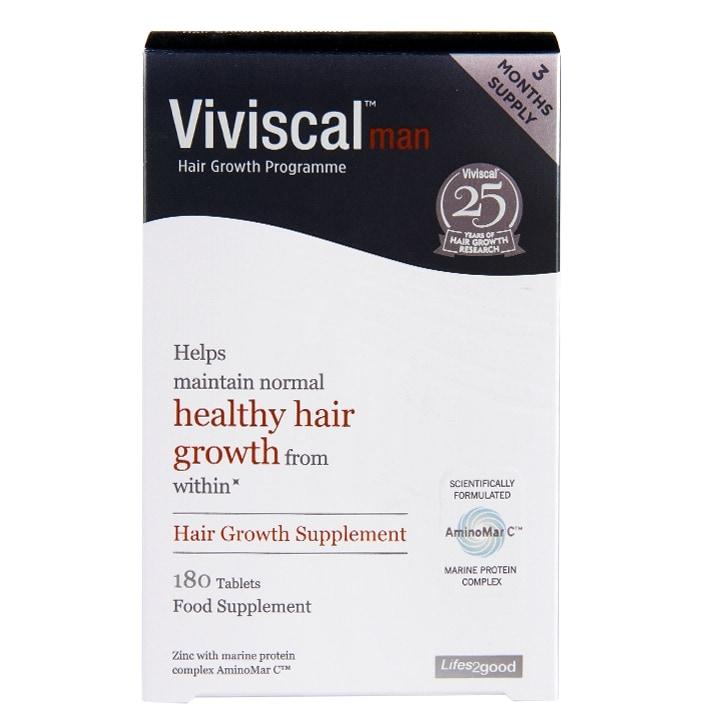 Viviscal Man Hair Growth Programme 180 Tablets