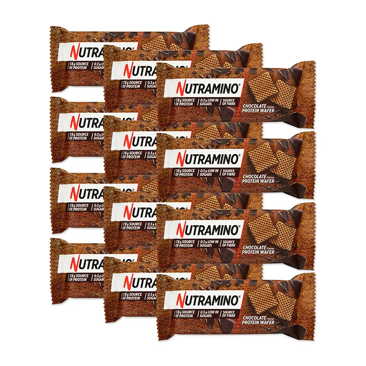 Nutramino Nutra-Go Protein Wafer Chocolate Box 12 x 39g
