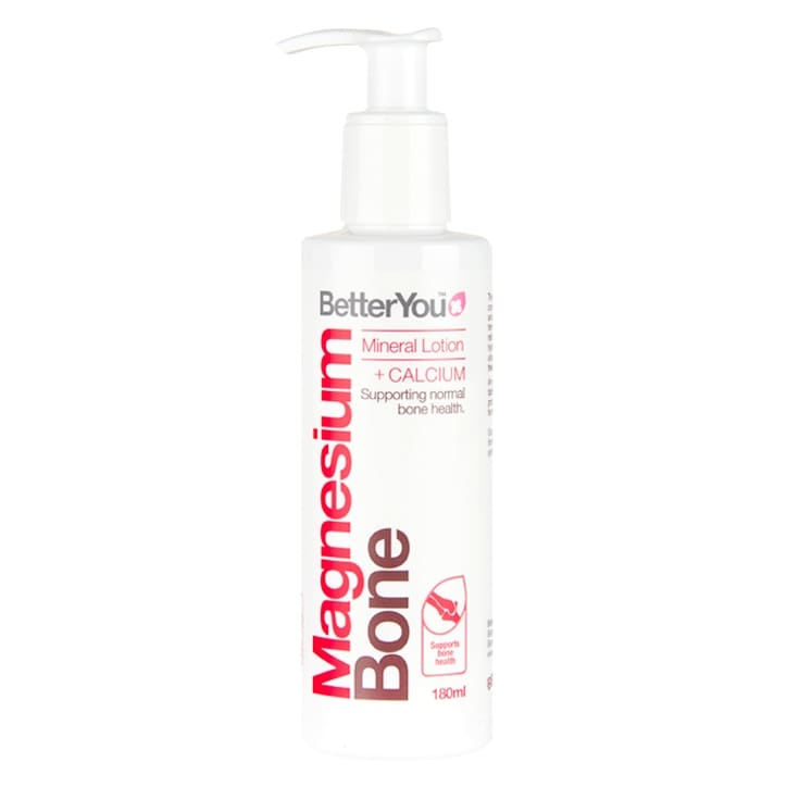 BetterYou Magnesium Bone Mineral Lotion + Calcium 180ml