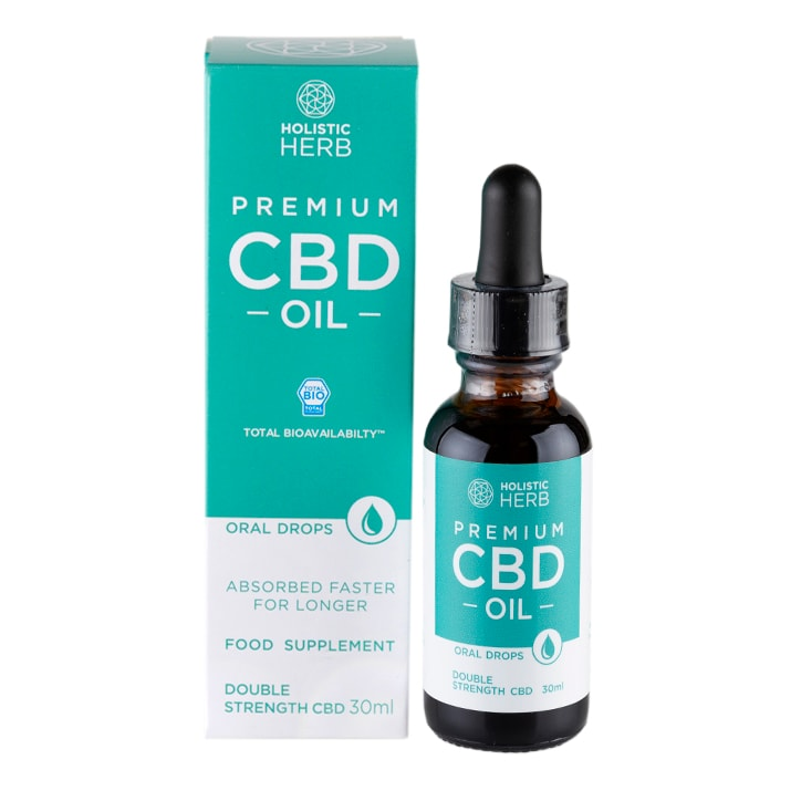 Holistic Herb Premium CBD Oil Double Strength 30ml