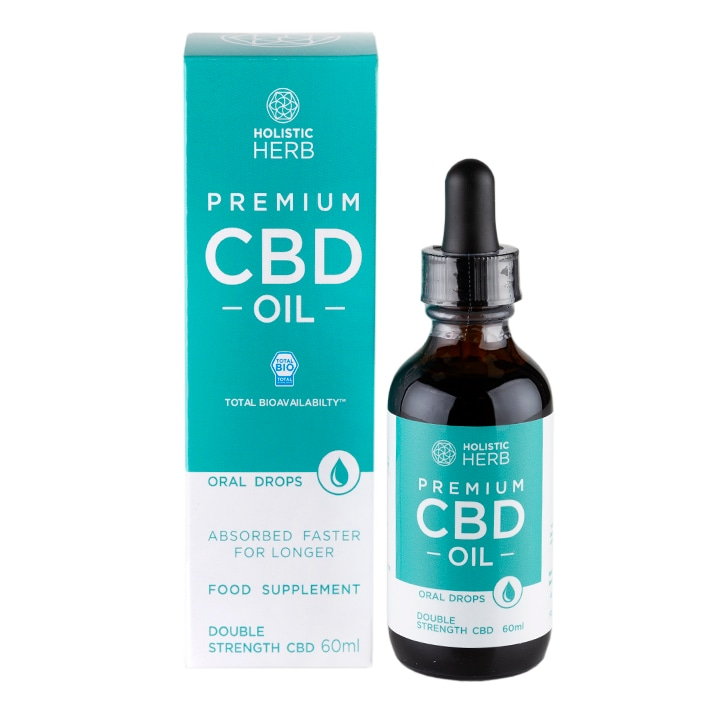 Holistic Herb Premium CBD Oil Double Strength 60ml