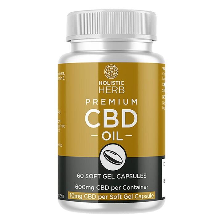 850538ba7 Holistic Herb Premium CBD 60 Capsules10mg