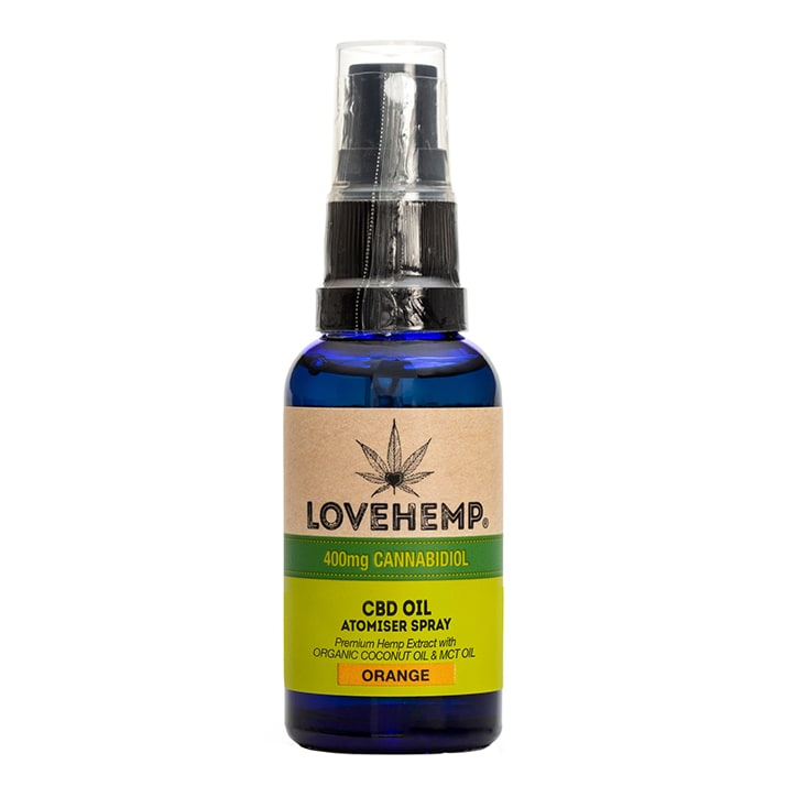 Love Hemp CBD Oil Spray Orange 400mg
