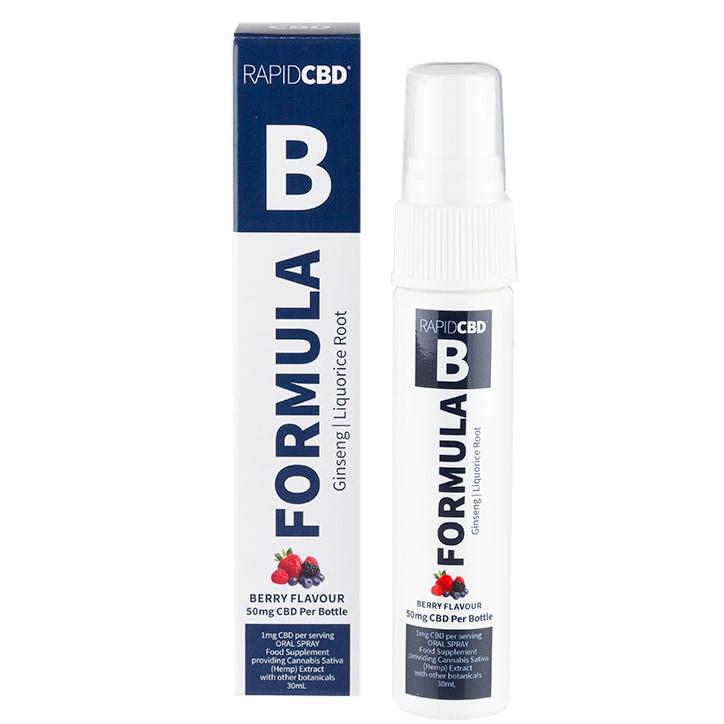 Rapid CBD Formula B Oral Spray Berry 50mg 30ml