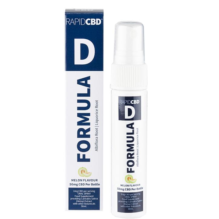 Rapid CBD Formula D Oral Spray Melon 50mg