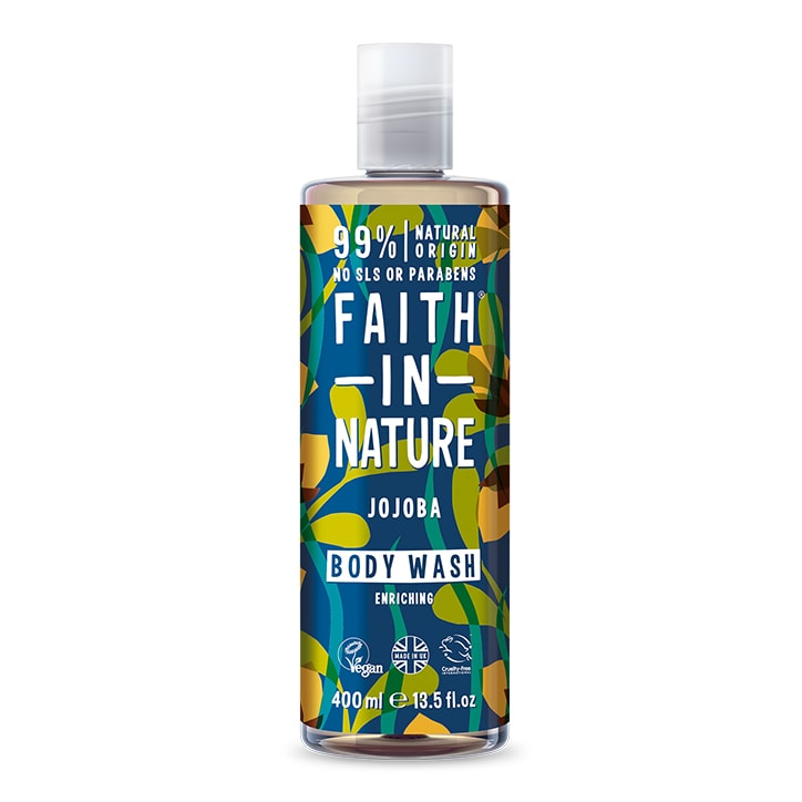 Faith in Nature Jojoba Body Wash 400ml
