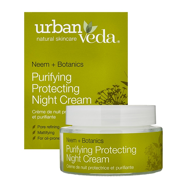 Urban Veda Purifying Protecting Night Cream 50ml