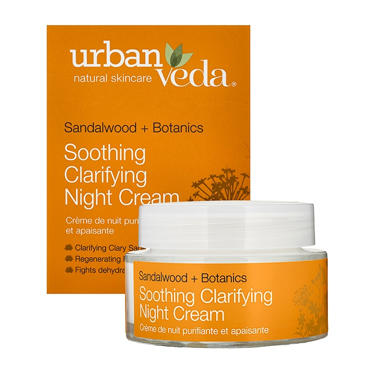 Urban Veda Soothing Clarifying Night Cream