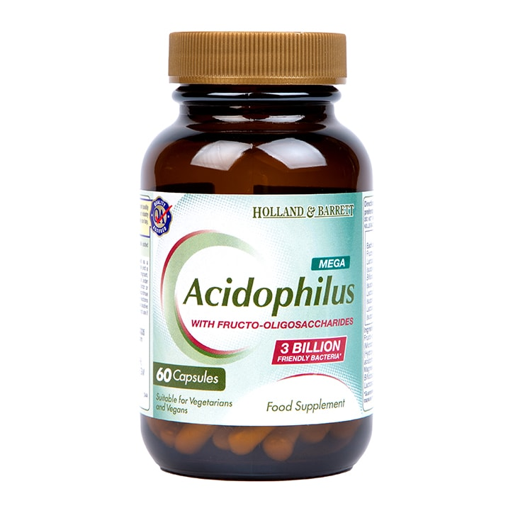 Holland & Barrett Mega Potency Acidophilus With Pectin Capsules