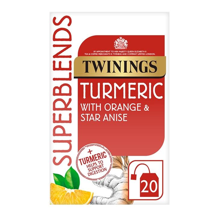 Twinings Superblends Turmeric 20 Tea Bags