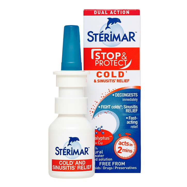 Sterimar Stop & Protect - Cold & Sinus Relief 20ml