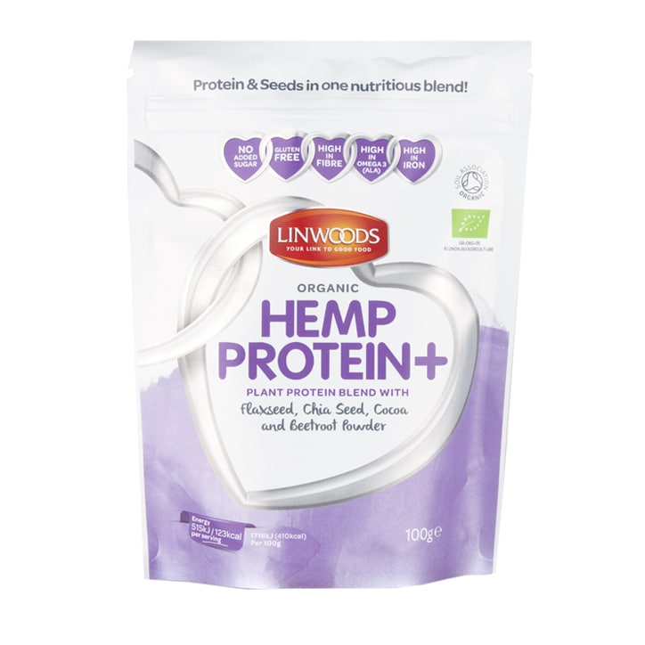 Linwoods Hemp Protein + Flax, Chia, Cocoa & Beetroot 100g