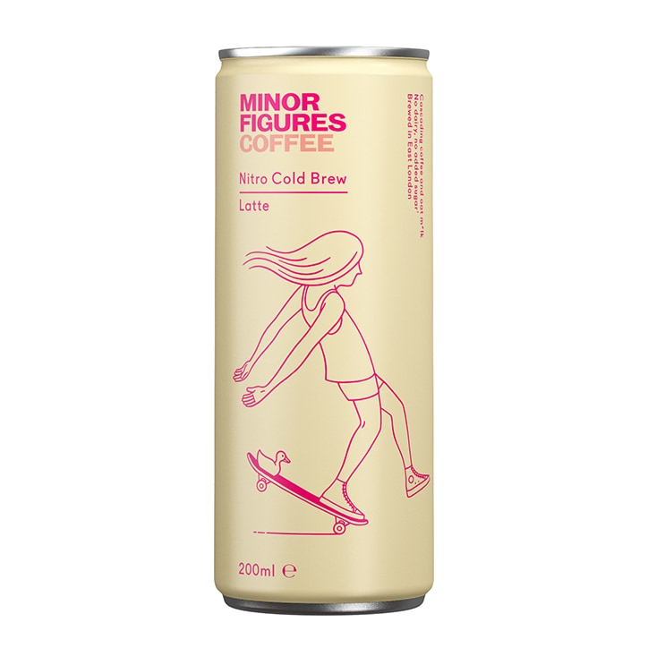 Minor Figures Cold Brew Coffee Latte 200ml