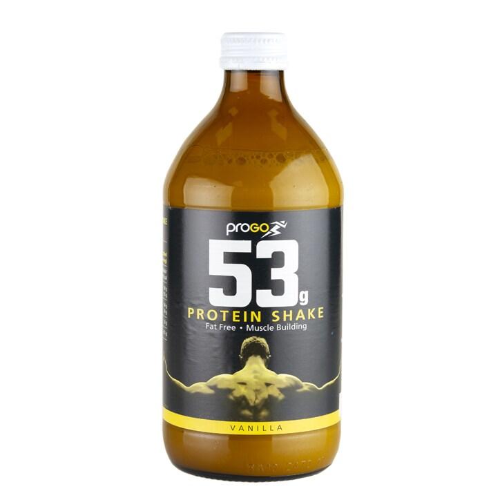 Progo 53g Protein Shake Vanilla 500ml