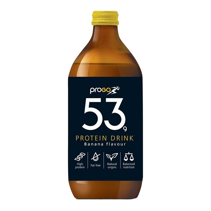 Progo 53g Protein Shake Banana 500ml
