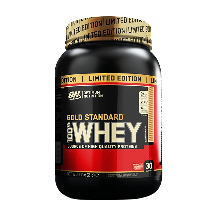 Optimum Nutrition Gold Standard 100% Whey Powder Cinnamon Bun