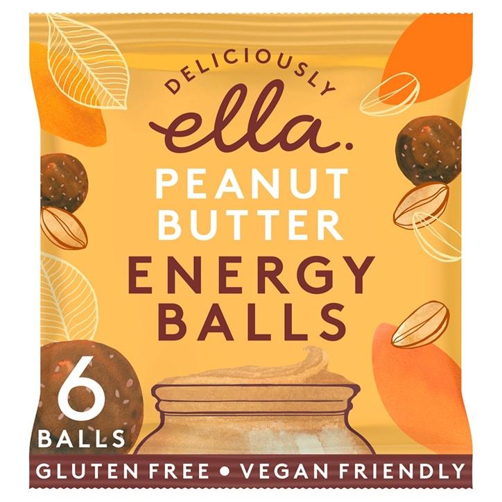 Deliciously Ella Peanut Butter Energy Balls