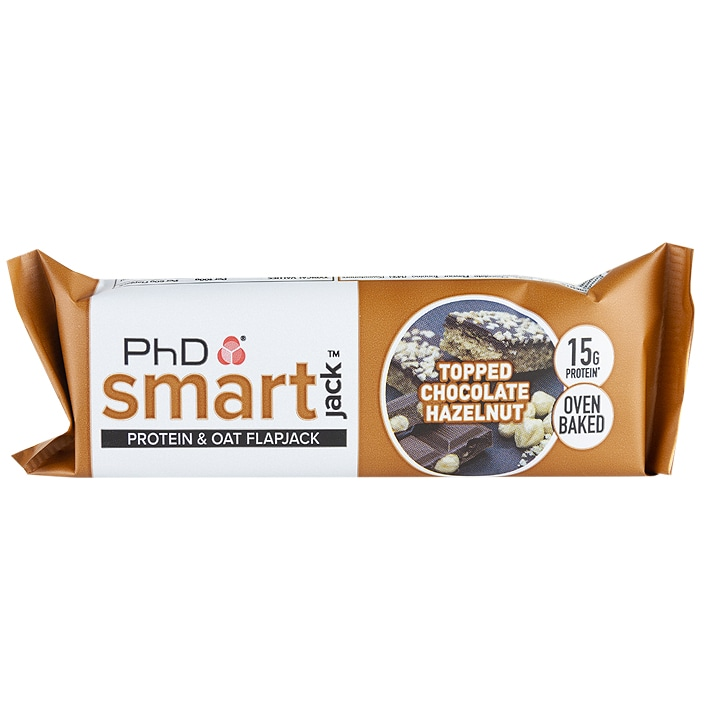 PhD Smart Flapjack Topped Chocolate Hazelnut 60g