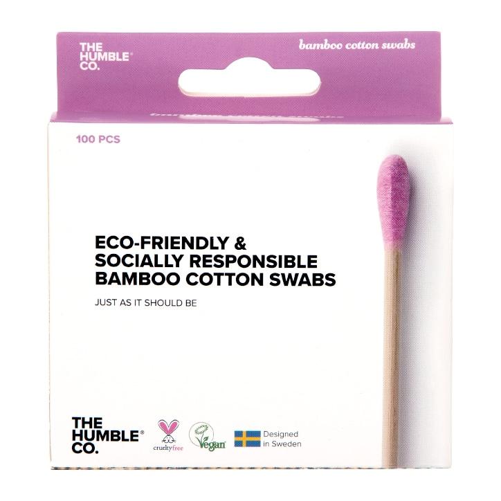 Humble Bamboo Cotton Swabs - Purple 100pcs