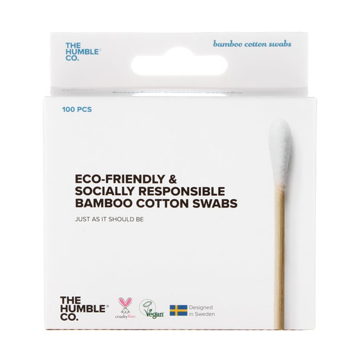 Humble Bamboo Cotton Swabs - White 100pcs