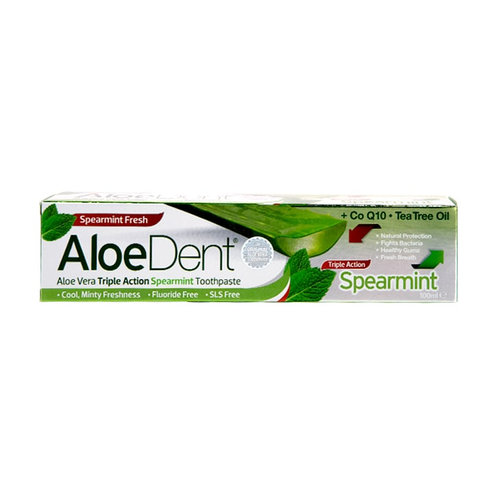 Aloe Dent Triple Action Spearmint Toothpaste 100ml