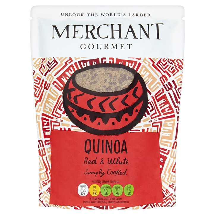 Merchant Gourmet Red & White Quinoa 250g