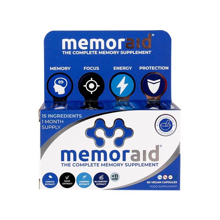 Memoraid The Complete Memory Supplement 60 Capsules