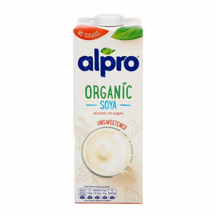 Alpro Organic Unsweetened Soya 1l