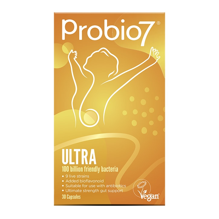 Probio 7 Digestive Health Supplement Ultra 100 Billion Capsules