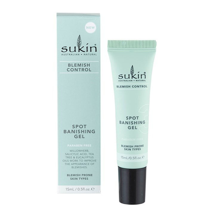 Sukin Blemish Control Spot Banishing Gel 15ml