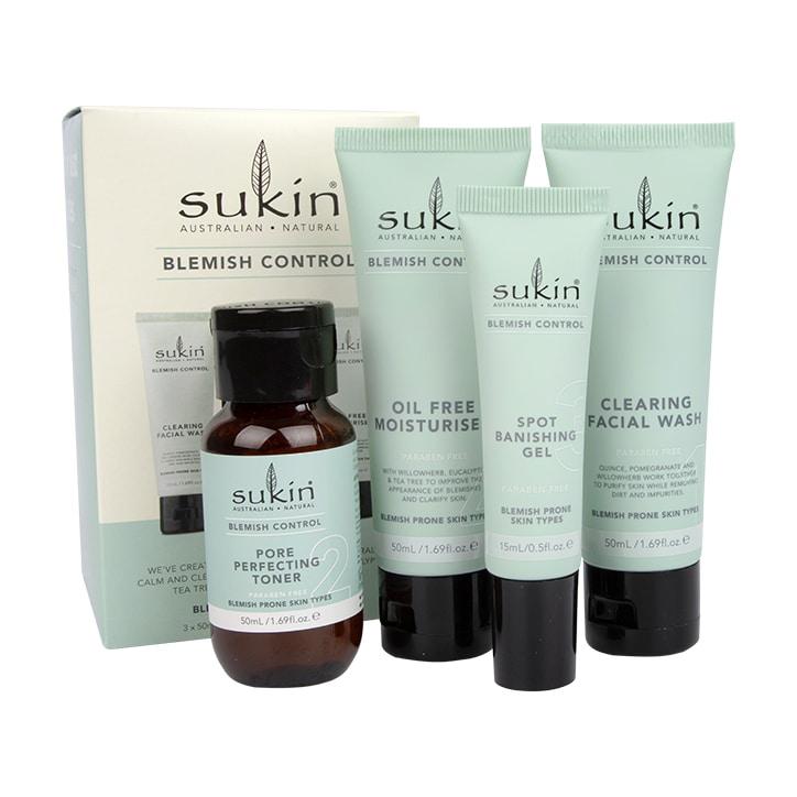 Sukin Blemish Control Kit 4 items