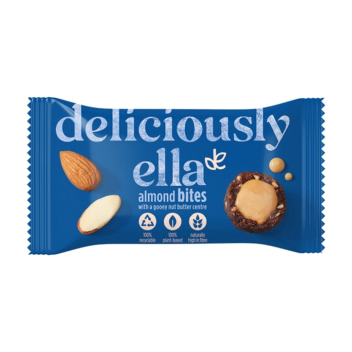 Deliciously Ella Almond Nut Butter Bites 36g